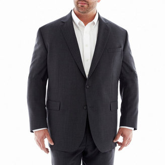 Claiborne Charcoal Suit Jacket - Big & Tall