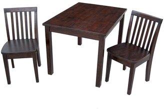 International concepts 3-pc. Juvenile Table & Chairs Set