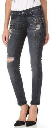 7 For All Mankind The Slim Cigarette with Crystals