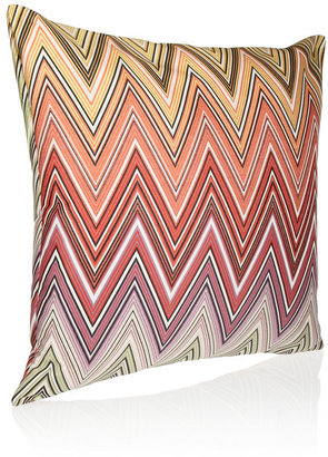 Missoni Home Ozan large zigzag down and feather-filled sateen cushion