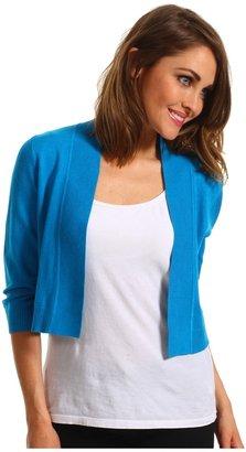 rsvp Calida Shrug (Turquoise) - Apparel
