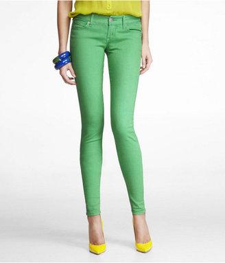 Express Zelda Colored Jean Legging-Light Green