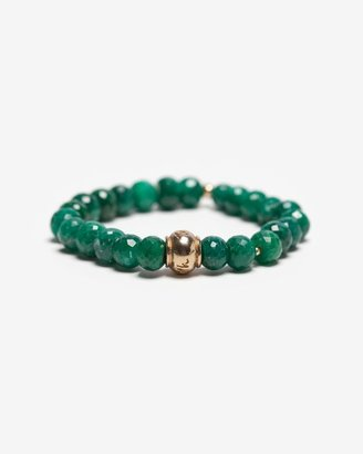 Lindsay Vallan Gemstone Stretch Bracelet