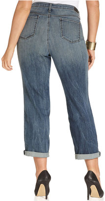 DKNY Bleeker Boyfriend Jeans, Down and Dirty Wash