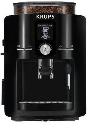 Krups EA8250001 Espresseria Full Automatic Espresso Machine, Piano Black