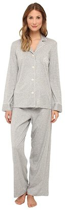 Lauren Ralph Lauren Hammond Knits Pajama Set (Heather Grey) Women's Pajama Sets
