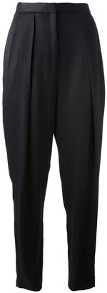 The Row high waisted cocoon trouser