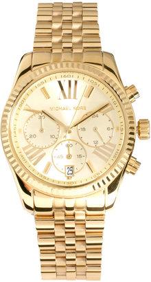 Michael Kors Bevelled Chronograph Watch