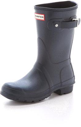 Hunter Boots Original Short Boots $140 thestylecure.com