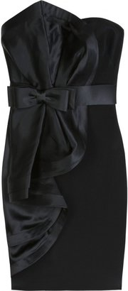 Notte by Marchesa COCKTAIL DRESS WITH BOW DETAIL