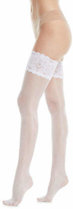 Wolford Satin Touch Stay-Up Thigh-Highs