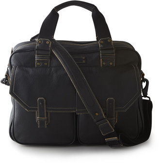 Andrew Marc New York Retro Calf Computer Satchel