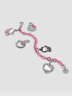 Hello Kitty CHARM IT! Girl's Six-Piece Bracelet & Charms Gift Set