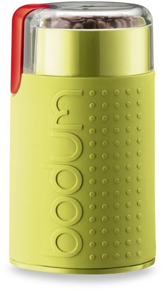 Bodum Bistro Blade Electric Conical Grinder in Green