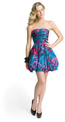 Tracy Reese Floral bubble mini