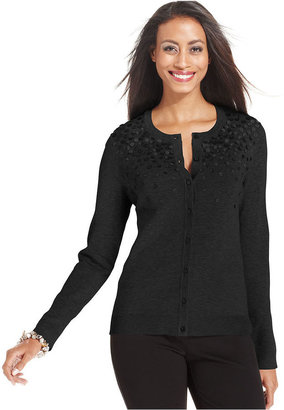 Charter Club Long-Sleeve Cardigan