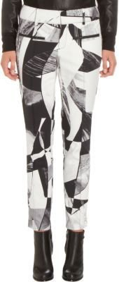Helmut Lang Cubist Print Cropped Pant