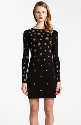 Cynthia Steffe Beaded Jersey Body-Con Dress