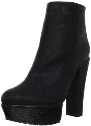 Iron Fist Women's Nightrider Platorm Ankle Bootie