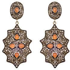 Divya Diamond Splash Of Diamonds Dangle Earrings