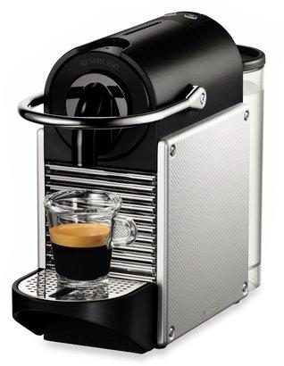 Nespresso Pixie D60-US-AL-NE Espresso Machine in Aluminum