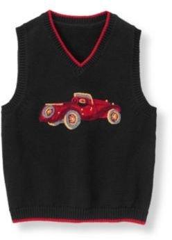 Janie and Jack Vintage Car Sweater Vest