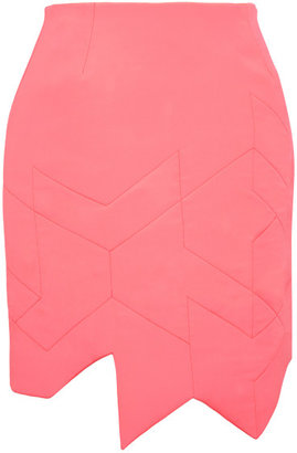 Preen Quilted Crepe Aero Skirt