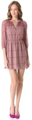 Madewell Mackenzie Shirred Dress