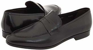 Mezlan Bradley II (Black) Men's Slip-on Dress Shoes