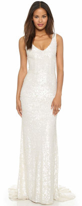Theia Harlow Sequin Gown $1,495 thestylecure.com