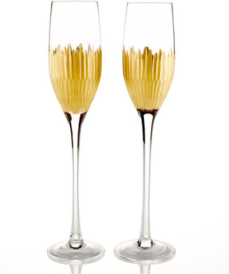 Marchesa by Lenox Set of 2 Imperial Caviar Flutes