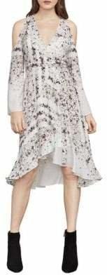 BCBGMAXAZRIA Leeam Woven City Dress