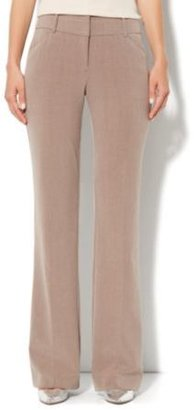 New York & Co. 7th Avenue Bootcut Pant - Pale Mocha Heather - Tall