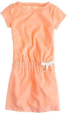 J.Crew Girls' terry drawstring dress