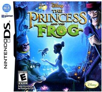 Nintendo ds TM disney © the princess & the frog