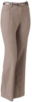 Apt. 9 crosshatch curvy trouser pants
