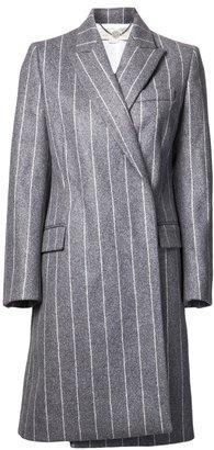 Stella McCartney stripe pattern coat