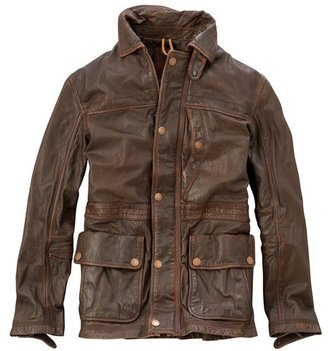 Timberland Men's Earthkeepers Leather Broadview Jacket Style 2862j