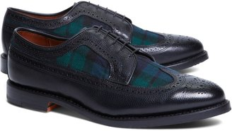 Brooks Brothers Leather and Wool Brogues