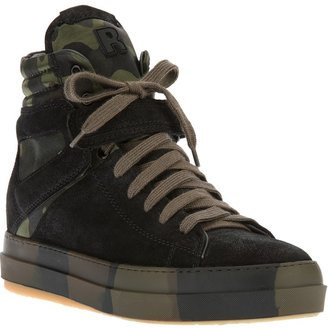 Ruco Line Rucoline camouflage hi-top sneaker