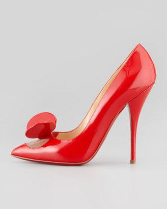 Christian Louboutin Madame Mouse High-Heel Patent Pump