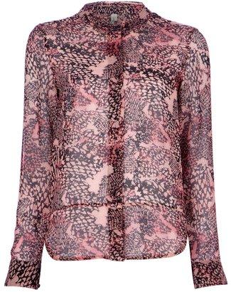 IRO 'Georgina' semi sheer blouse