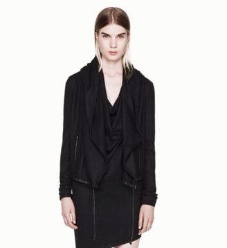 Helmut Lang Sonar Wool 2 Leather Jacket