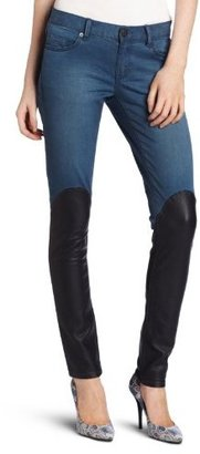 BCBGeneration Women's Knee High Leather Jean