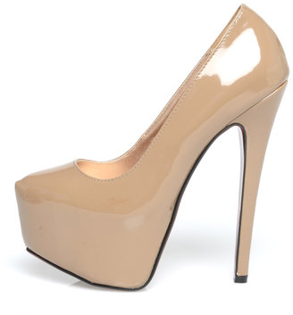 AX Paris Glam Front Platform Shoe