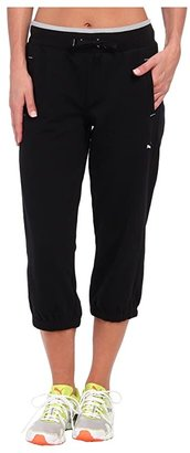 Puma Sweat Capri (Black) Women's Capri