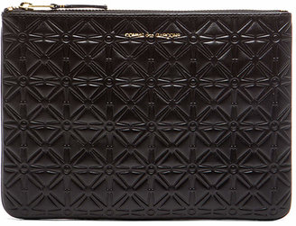 Comme des Garcons Star Embossed Pouch