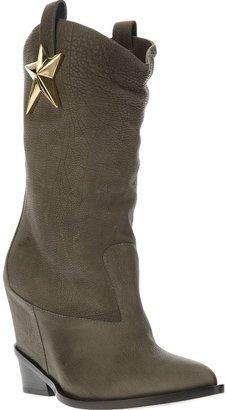 Giuseppe Zanotti Design sheriff star cowboy boot
