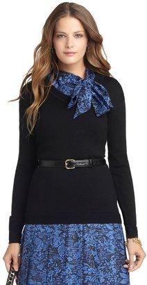 Brooks Brothers Long-Sleeve V-Neck Sweater
