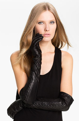 Nordstrom Opera Length Leather Gloves